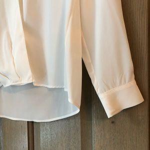Cuyana Tops - CUYANA V neck white blouse!